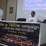 Go Yellow drive at Department Of Higher Education for student counselors - 2019